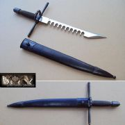 Sword Breaker Dagger & Sheath